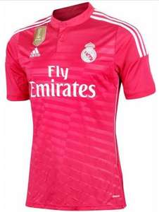Maillot Real Madrid 2014 Adidas Climacool pour homme - Rose