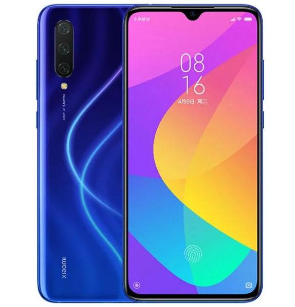 """Smartphone 6.39"""" Xiaomi Mi 9 Lite - Bleu, 6 Go de RAM, 128 Go (Garantie UE)"""