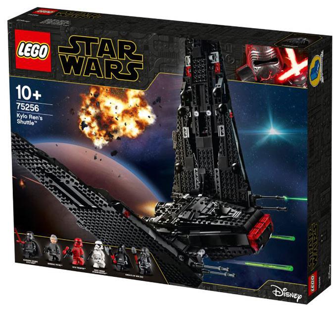 Jeu de construction Lego Star Wars - La navette de Kylo Ren (75256)