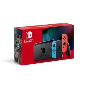 Console Nintendo Switch 2019 avec paire de Joy-Con Néon ou Gris