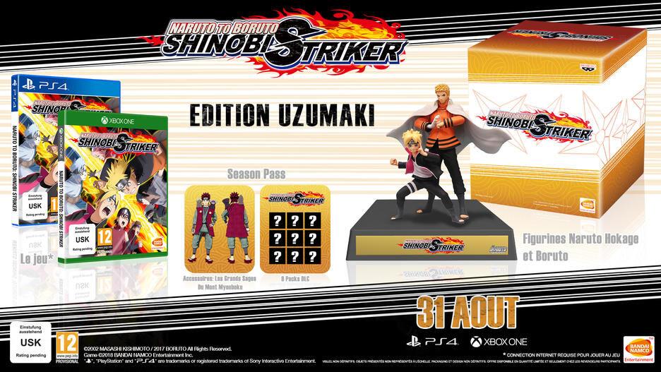 Naruto to Boruto Shinobi Striker - Edition Collector sur Xbox One