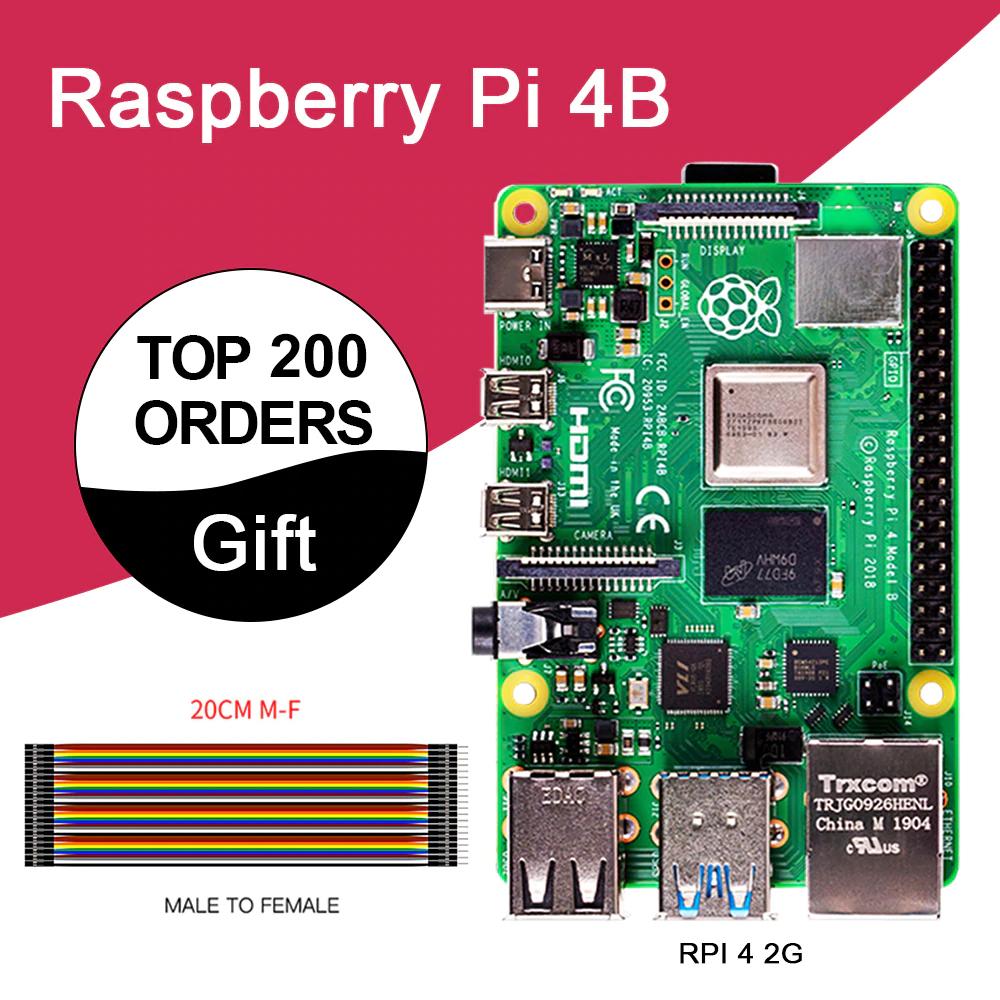 Carte de Développement Raspberry Pi 4 B - 2 Go
