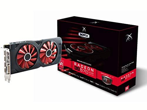 Carte Graphique AMD Radeon RX 570 XFX RX-570P4DFD6 4Go (Vendeur Tiers)