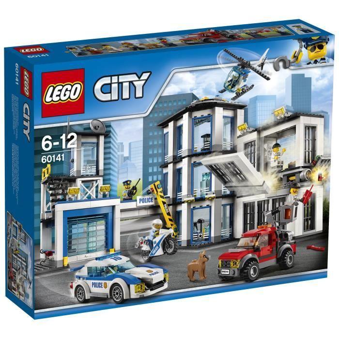 Jeu de Construction Lego City 60141- Le commissariat de police