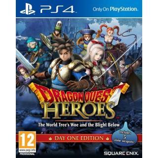 Jeu Dragon Quest Heroes : Le Crépuscule de l'Arbre du Monde Day One sur PS4