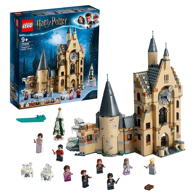 Jeu de construction Lego Harry Potter : Tour de l'horloge n°75948