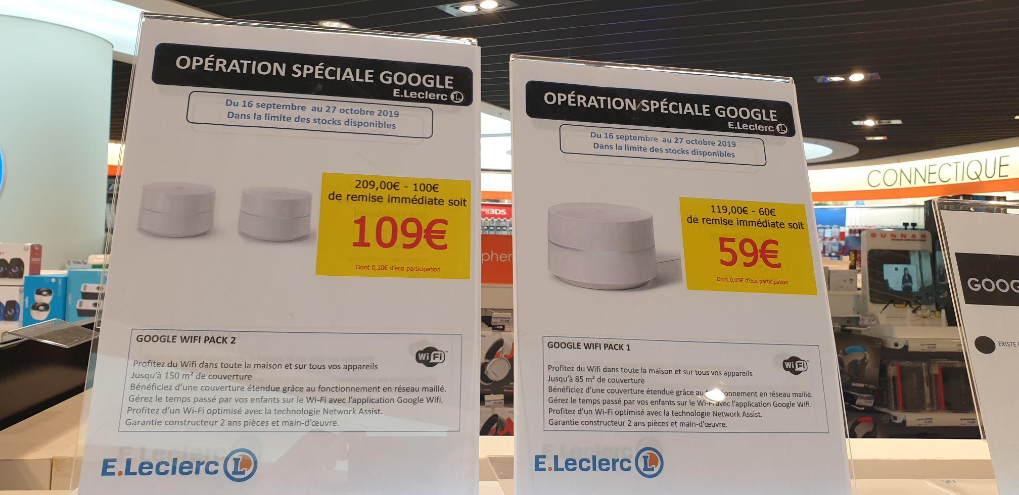 Routeur Google Wifi ou Pack de 2 à 109€ - Saint-Herblain (44)