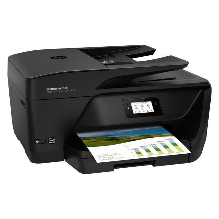 Imprimante HP Office Jet Pro 6950 + 2 ans d'abonnement Instant ink