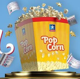 50% de réduction sur le popcorn - Cinémas Kinepolis (Frontaliers Belgique)