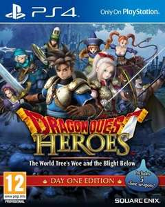 Jeu Dragon Quest Heroes The World Trees Woe and the Blight Below sur PS4 - Day One Edition