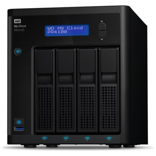 Serveur de stockage NAS WD My Cloud Série Pro PR4100 - 16 To (4 x 4 To)