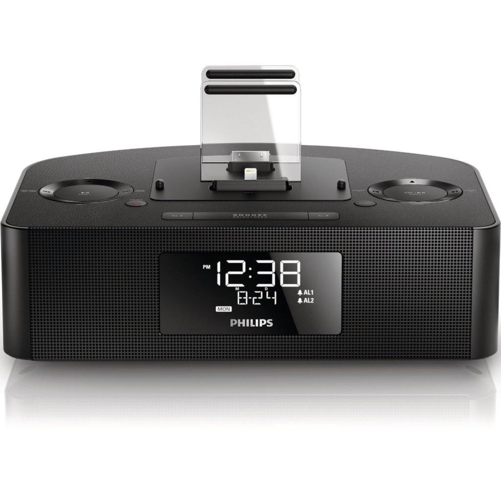Radio réveil/station d'accueil Philips AJ7260D/12 - Apple lightning