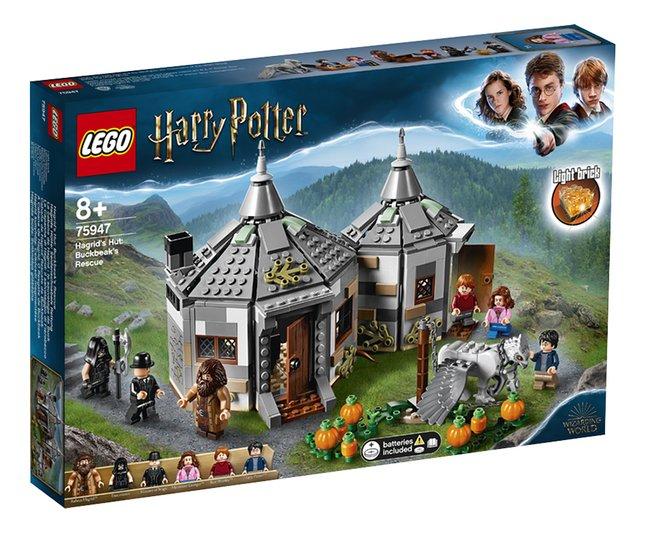 Jouet Lego Harry Potter 75947 - La cabane de Hagrid: le sauvetage de Buck (Frontaliers Belgique)