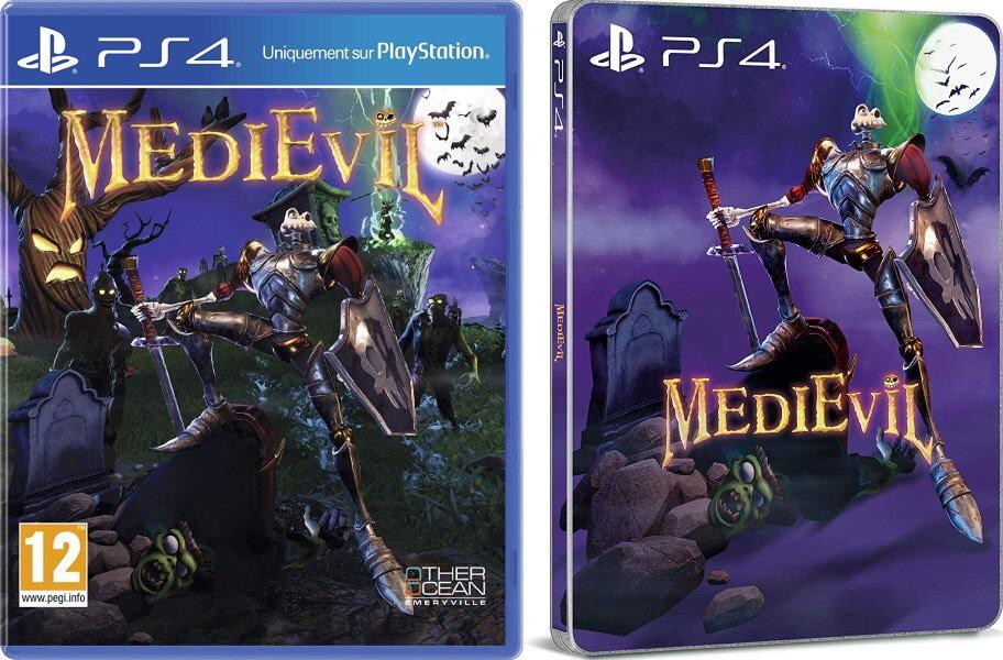 [Précommande] MediEvil sur PS4 + Steelbook
