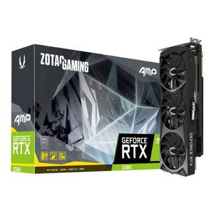 Carte graphique ZOTAC GAMING GeForce RTX 2080 AMP - 8 Go (Frontaliers Suisse)