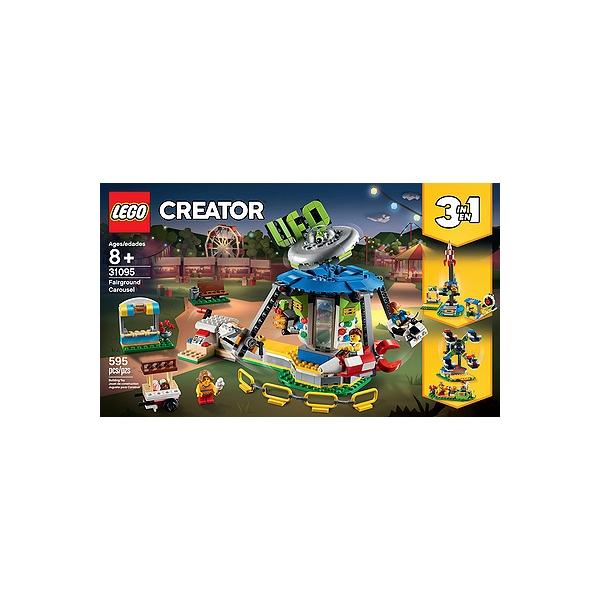 Jouet Lego Creator 31095 - Le manège de la fête foraine