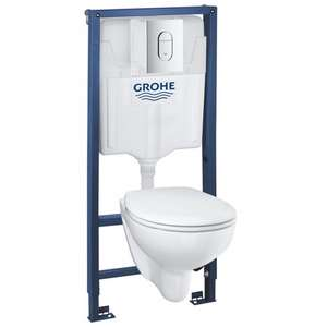 Set WC suspendu Rimless Grohe Bau Ceramic (ME5351223)