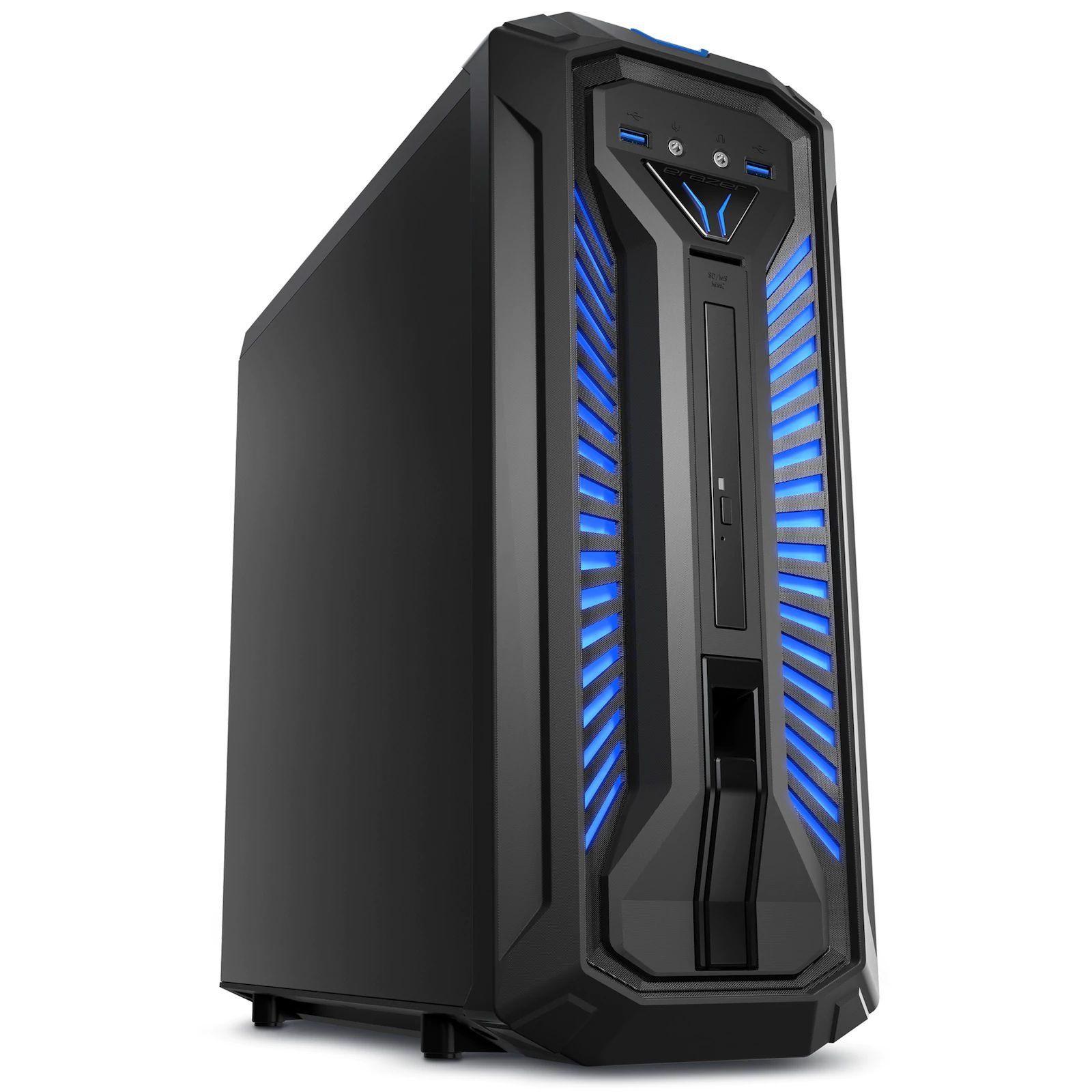 Pc Fixe Gamer Medion Erazer X67097 - i7-8700, GTX 1070, 16Go RAM, 256Go SSD (Frontaliers Suisse)