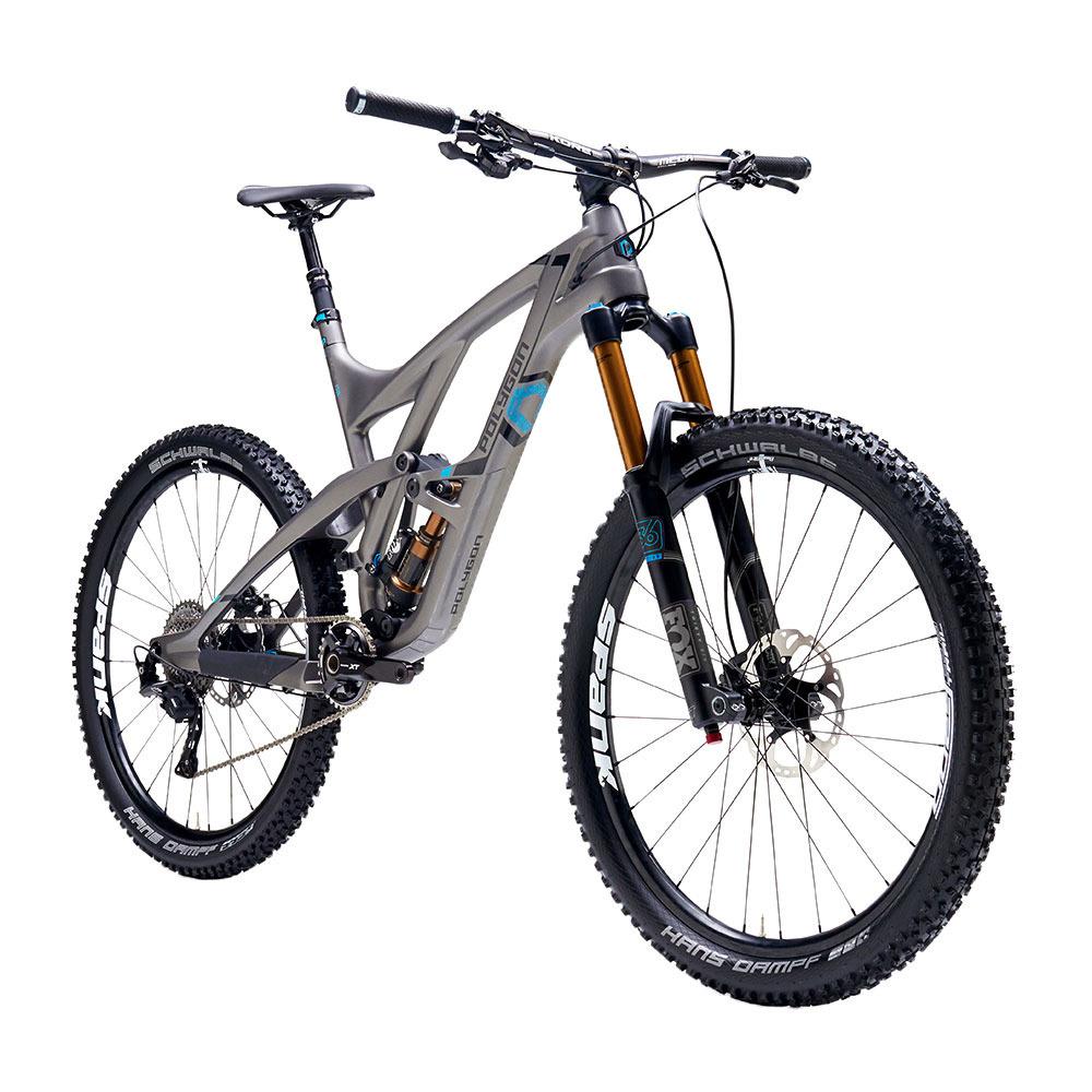 "Vélo VTT Polygon Collosus N8 XT - 2016 - Tout suspendu, Enduro, Tailles 16, 17, 18.5"""