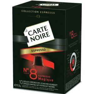 2 boites de capsules Carte Noire (BDR + Shopmium) - Plusieurs parfums