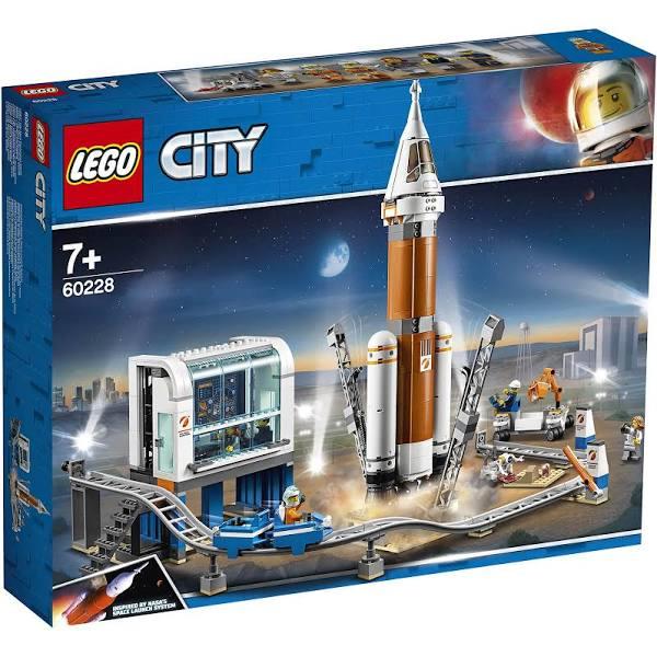 Jouet Lego City 60228 - La Fusée spatiale et sa Station de Lancement  (75.99€ avec le code WELCOMESEP frais de port inclus)