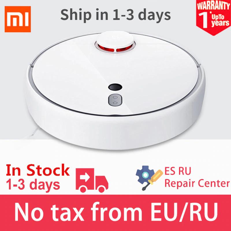 Aspirateur robot Xiaomi Mijia Mi Robot 1S - Blanc (Entrepôt France)