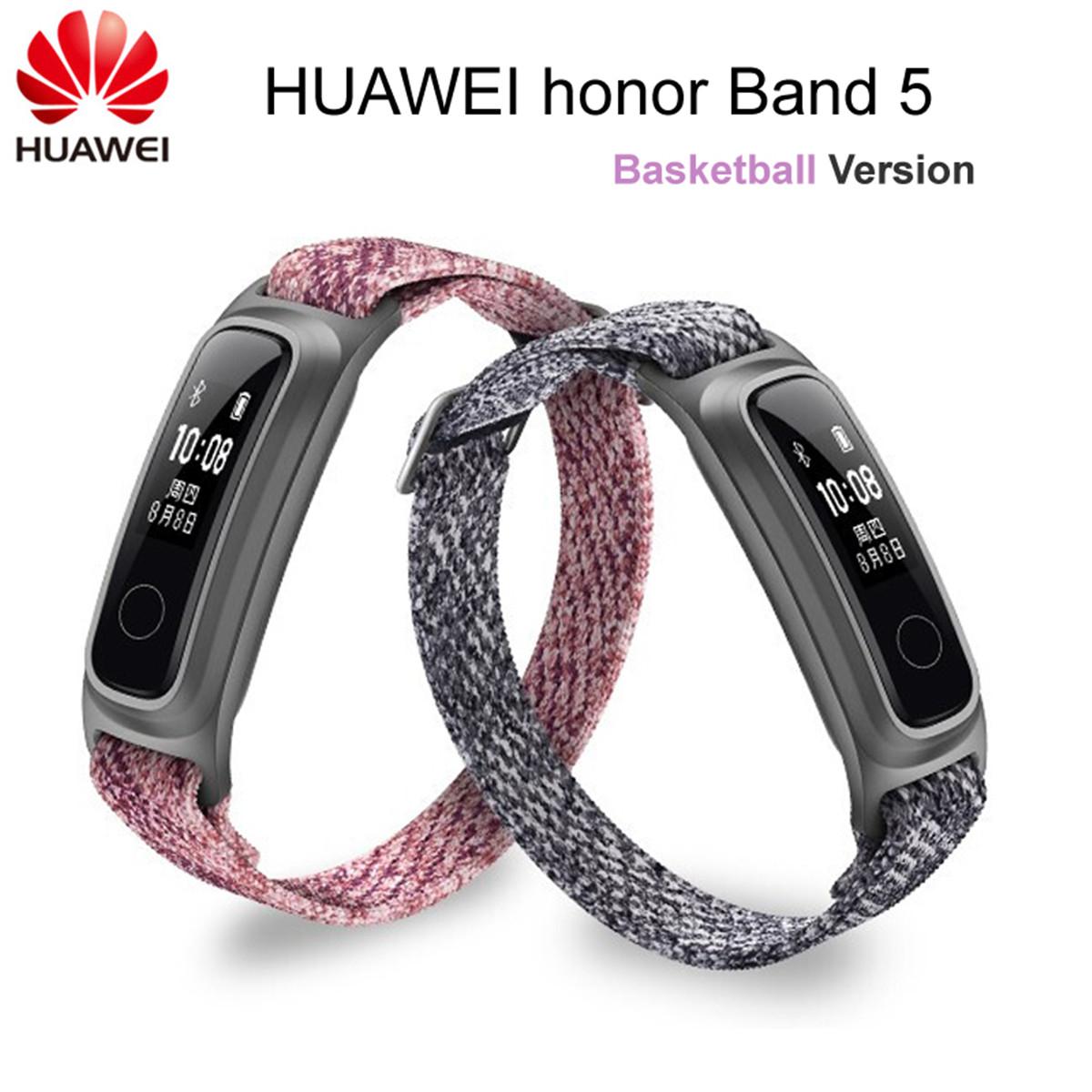 Bracelet Connecté Honor Band 5 - Version Basketball