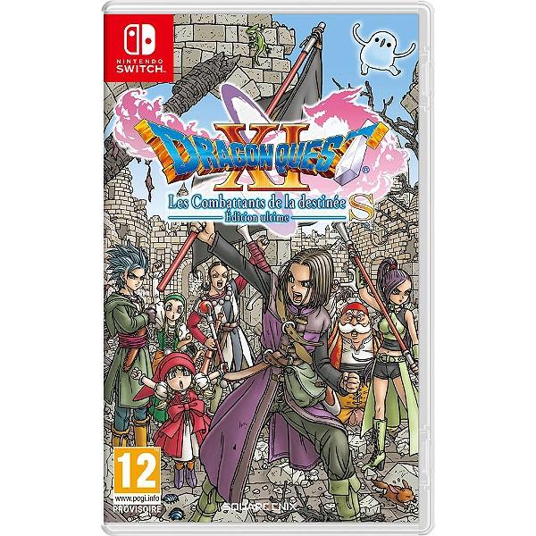 Jeu Dragon Quest XI S : Les Combattants de la Destinée - Édition Ultime sur Nintendo Switch