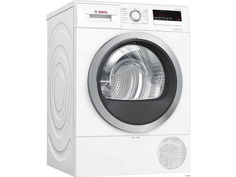 Sèche linge Bosch WTR85V01FF - 8kg, pompe à chaleur, condensation, A++