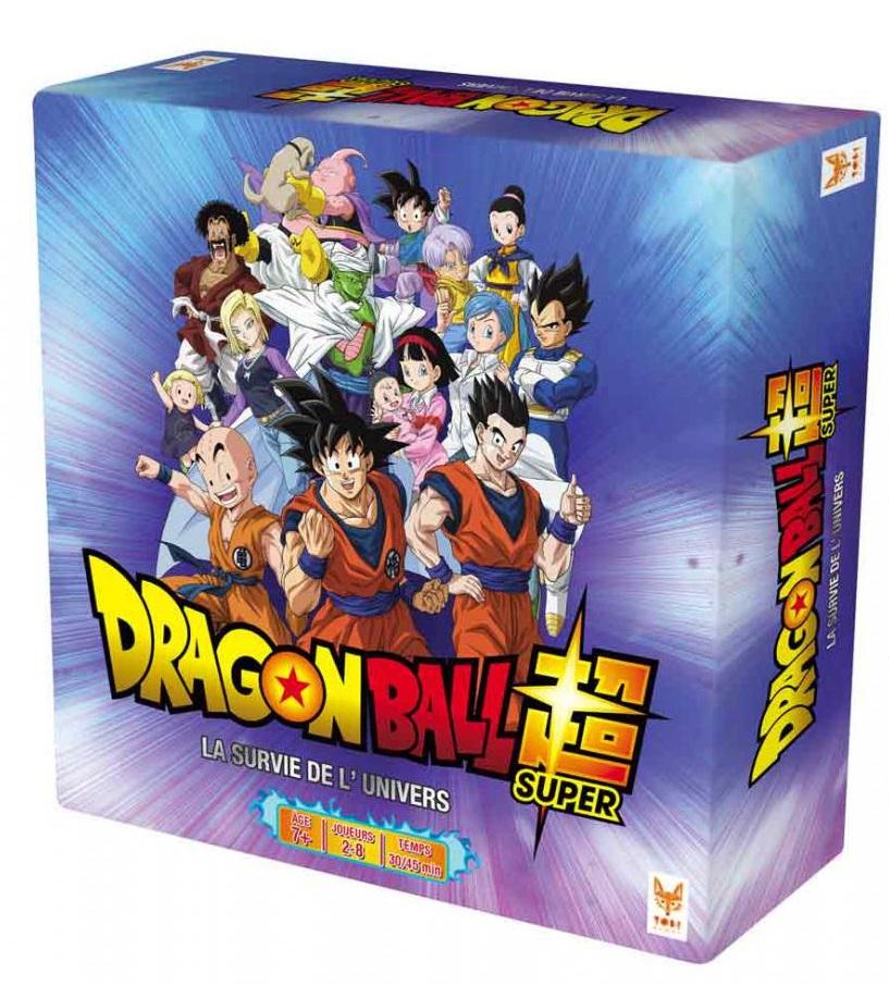 """Jeu de société """"Dragon Ball Super : La Survie de l'Univers"""" (via 6€ sur la carte)"""
