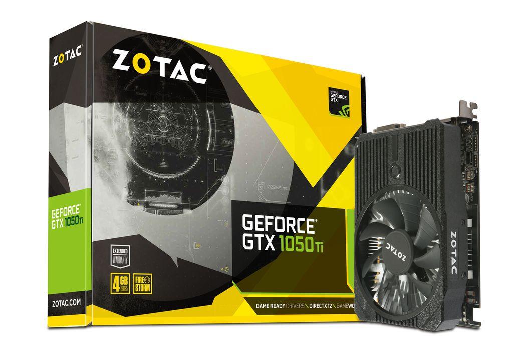 Carte graphique ZOTAC GeForce GTX 1050 Ti Mini (Frontalier Suisse)