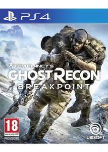 Ghost Recon Breakpoint sur PS4 + 2€ de SuperPoints