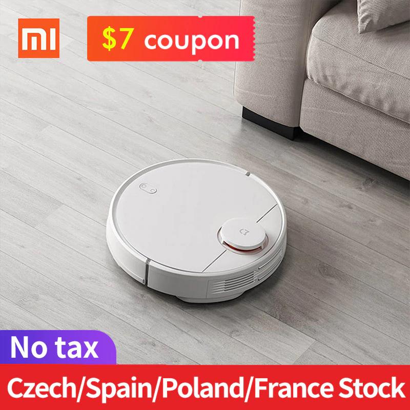 Aspirateur robot Xiaomi MiJia Vacuum P 2019 (STYJ02YM) - noir (entrepôt FR)