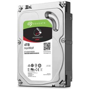 """Disque dur interne 3.5"""" Seagate IronWolf NAS - 4 To (5900 trs/min)"""