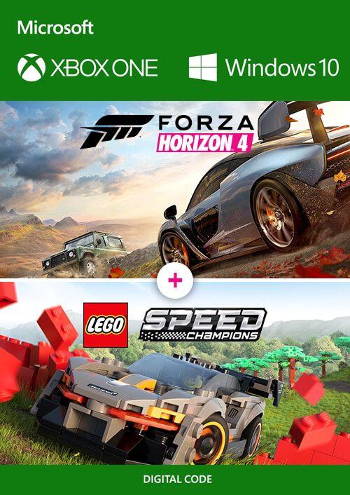 Forza Horizon 4 + Lego Speed Champions Xbox One/PC Win 10 (Dématérialisé)