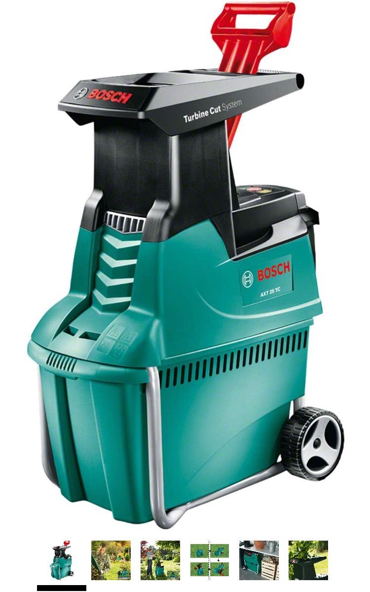 Broyeur de végétaux Bosch AXT 25 TC 2500W