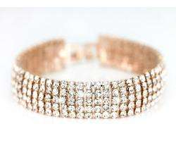 Sélection de Bijoux plaqués or ou argent en promo - Ex : Bracelet or rose 18 carats