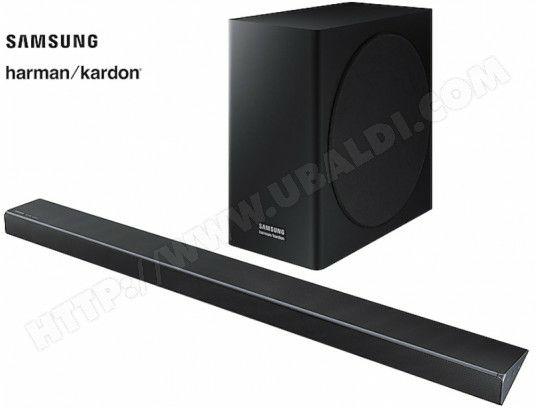 Barre de son Samsung HW-Q70R/ZF avec Caisson de basses sans fil - 330W (Via ODR de 200€)