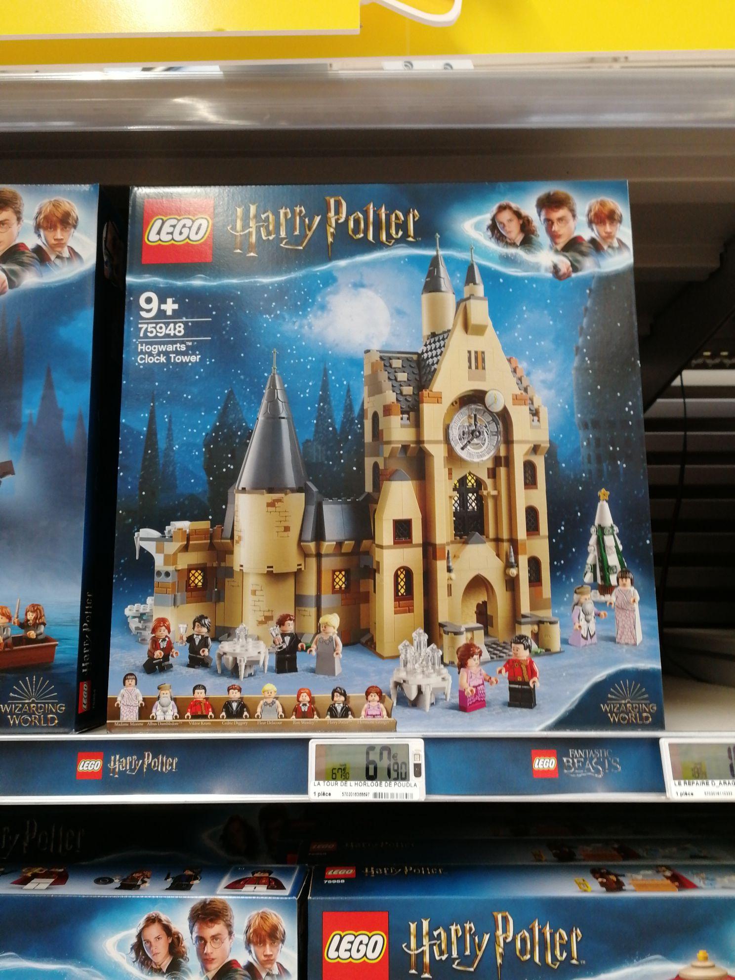 Jeu de construction Lego Harry Potter La tour de l'horloge de Poudlard 75948 - La ville-du-Bois (91)