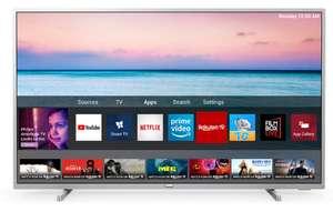 """TV 65"""" Philips 65PUS6554/12 - 4K, Dolby Vision HDR 10+, HLG, son Dolby Atmos, Smart TV"""