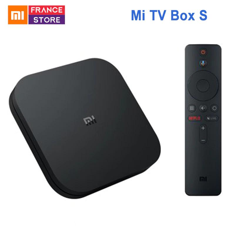 Box multimédia Xiaomi Mi TV Box S - 2 Go de Ram, 8 Go, Android 8.1 TV 4K HDR