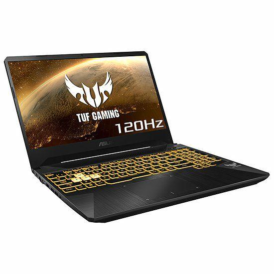 PC portable 15.6'' ASUS TUF 505DT-AL218 - Full HD, Ryzen 5-3550H, GTX 1650, 16Go RAM, SSD 512 Go, Sans OS