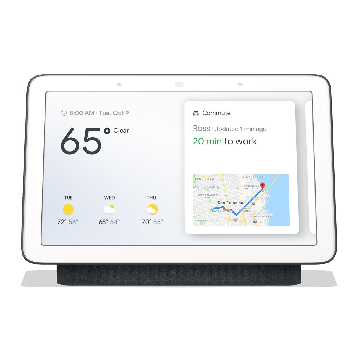 Enceinte connectée Google Nest Hub offerte pour la pré-commande d'un smartphone Google Pixel 4 ou Pixel 4 XL