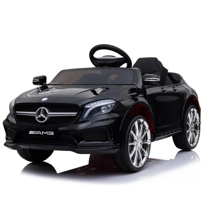 Voiture électrique enfant Mercedes AMG GLA 45 - 12V, Moteur 2 x 35W, 7 km/h (Noir)