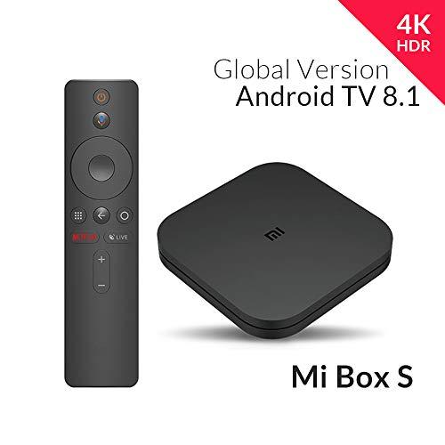 Box TV Android Xiaomi Mi Box S - 4K UHD, Cortex A53, 2 Go de RAM, 8 Go, Android 8.1 (vendeur tiers)
