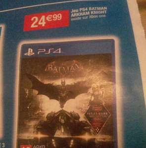 Batman Arkham Knight sur PS4 ou Xbox One
