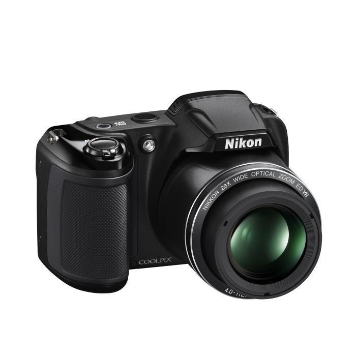 Appareil Photo Nikon Coolpix L340 Noir