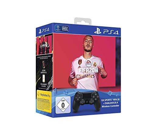 Pack Manette Sony PS4 DualShock 4 + Jeu FIFA 20