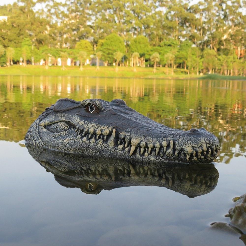 Tête de Crocodile radiocommandée RC Flytec V005 - 15 km/h