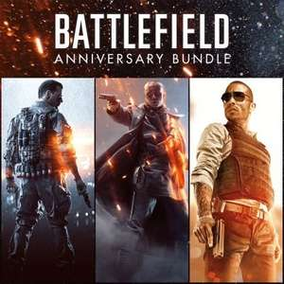 Battlefield 1 (Jeu + Season Pass) + Battlefield 4 (Jeu + SP) + Battlefield Hardline (Jeu + SP) + Battlepacks sur PS4 (Dématérialisés)